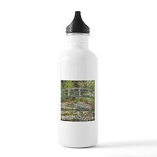 Monet Bridge over Water Lilies Water Bottle