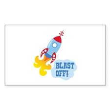 BLAST OFF! Decal