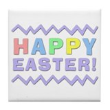 Happy Easter! Tile Coaster