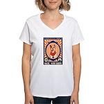 SGT. Stubby Women's V-Neck T-Shirt