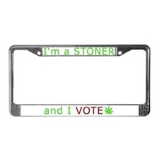 STONER VOTER License Plate Frame