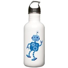 Dancing Robot Water Bottle