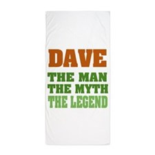 Dave The Legend Beach Towel