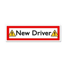 Cute Driving Car Magnet 10 x 3