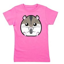 Winter Russian Dwarf Hamster Girl's Tee