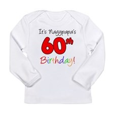 Nagypapa 60th Birthday Long Sleeve T-Shirt