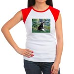 Bridge & Boston Ter Women's Cap Sleeve T-Shirt