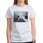 Creation of a Boston Ter Women's T-Shirt