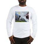 Creation of a Boston Ter Long Sleeve T-Shirt