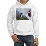 Creation of a Boston Ter Hooded Sweatshirt