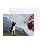 Creation of a Boston Ter Greeting Cards (Pk of 10)