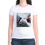 Creation of a Boston Ter Jr. Ringer T-Shirt