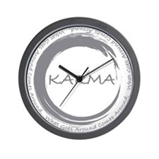 Karma, What goes around comes around Wall Clock