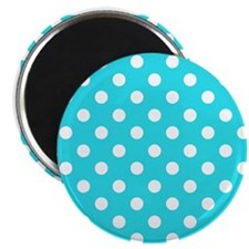 teal-polkadot-shoulder-bag Magnets