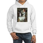 Ophelia & Boston Terrier Hooded Sweatshirt