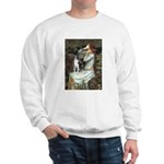 Ophelia & Boston Terrier Sweatshirt