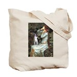 Ophelia & Boston Terrier Tote Bag