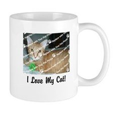 CUSTOMIZE Add Photo Love Cat Mug - Right