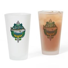 Personalized Striper Drinking Glass