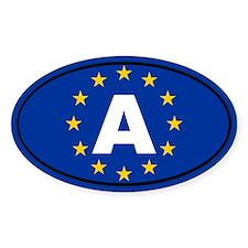 Austria European Union Decal