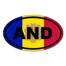 Andorra Flag Decal