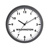 Custom modern newsroom wall clock Wall Clocks