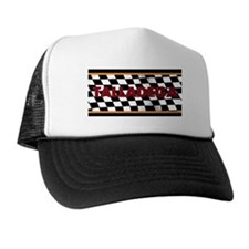Talladega Alabama License Plate Trucker Hat