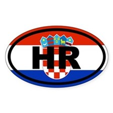 Croatia Flag Decal