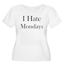 I Hate Mondays Plus Size T-Shirt
