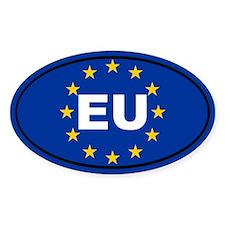 European Union flag Decal
