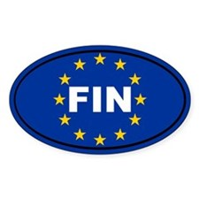 Finland European Union Decal