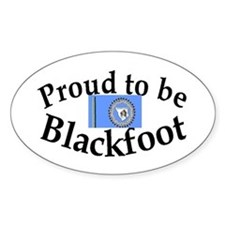 Blackfoot Oval Decal