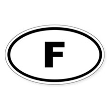 France F Decal