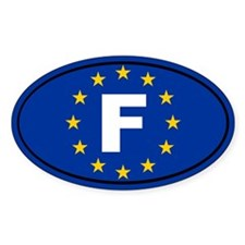 France European Union Decal