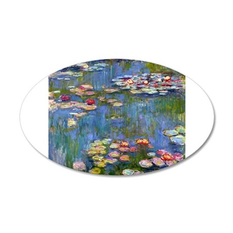 Monet Water lilies Wall Decal