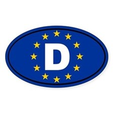 Germany European Union Decal