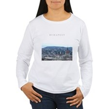 Budapest Hungary souvenir Long Sleeve T-Shirt
