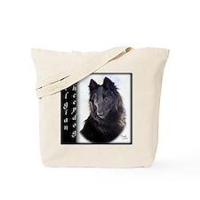 Belgian Sheepdog Tote Bag