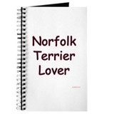 Norfolk Terrier Lover Journal