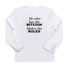 bitcoin rules Long Sleeve T-Shirt