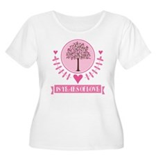 18th Anniversary Love Tree T-Shirt