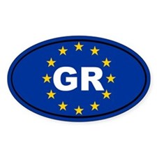 Greece European Union Decal