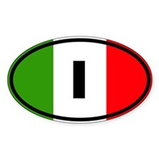 Italy Flag Decal