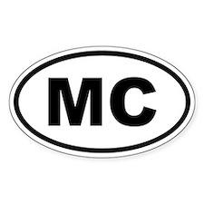 Monaco MC Decal