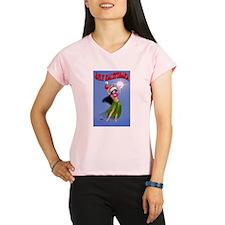 Mele Kalikimaka Hula Performance Dry T-Shirt