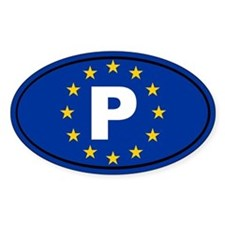 Portugal European Union Decal