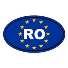 Romania European Union Decal