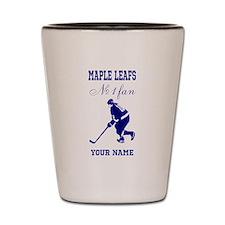 Number 1 Hockey Fan Shot Glass
