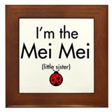 Mei Mei Ladybug Framed Tile