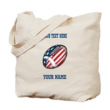 American Football - Personalized Tote Bag